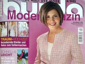 Парад моделей Burda Moden № 4/2002, Европейское издание. Ярмарка Мастеров - ручная работа, handmade.
