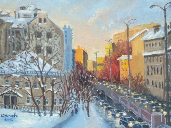 Мороз и солнце на Таганке. | Ярмарка Мастеров - ручная работа, handmade