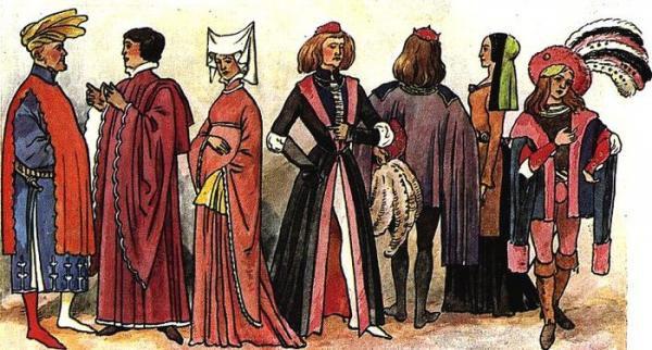 Головные уборы Средневековья