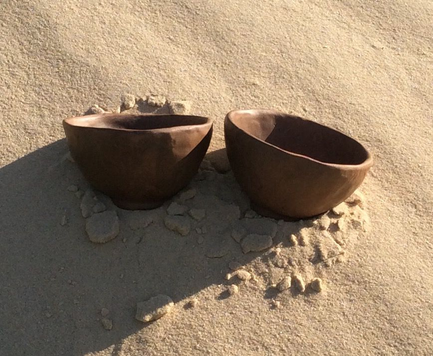 Две скорлупки времени.. Две чайные пиалы, фото № 10