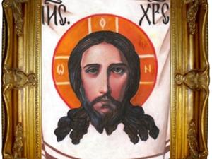 Нерукотворный образ Иисуса Христа. Ярмарка Мастеров - ручная работа, handmade.