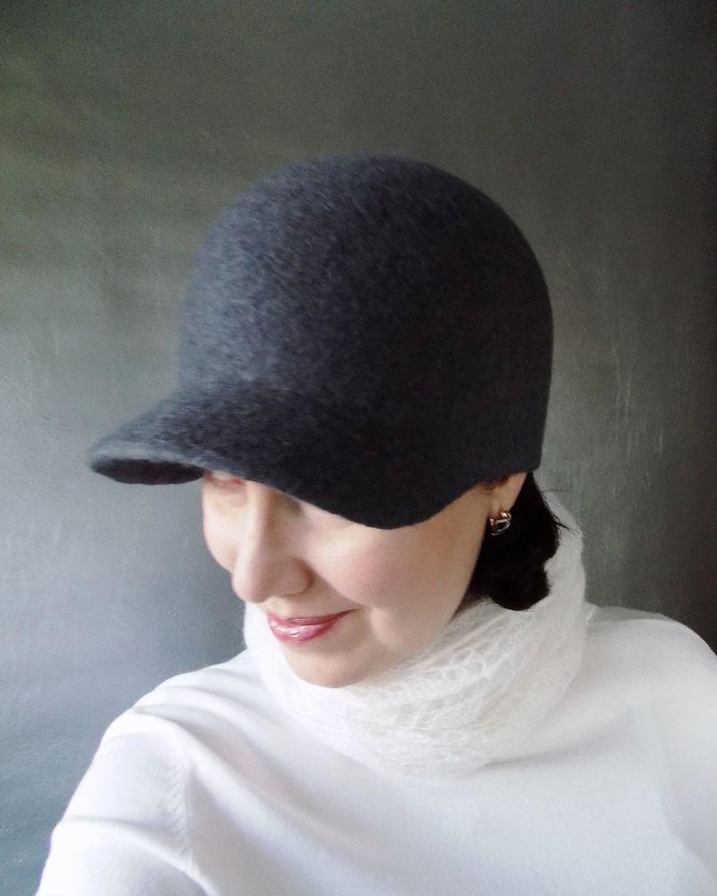 шапка валяная