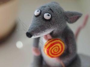 Новая мышка в моем магазине). Ярмарка Мастеров - ручная работа, handmade.