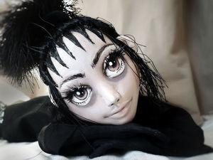 23eac2116ce Подробный мастер-класс по созданию мистической куколки из трикотажа. Часть 1
