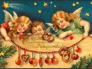 Счастливого Рождества. Ярмарка Мастеров - ручная работа, handmade.