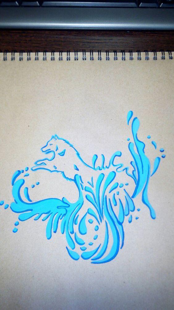 ваше мнение, краски, мысль, волки, вода, капли, брызги, футболка на заказ, роспись по ткани, принт, рисунок, рисунок ручной работы, рисуем, 13маек, роспись handmade, ручная работа, идеи, новое, новинка, майка