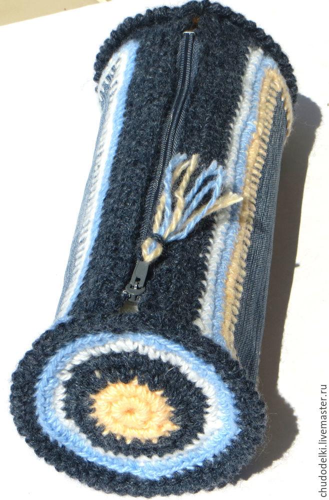 сумочка крючок, из старых джинсов, сумка крючком, вязание сумочки крючком, мастер класс
