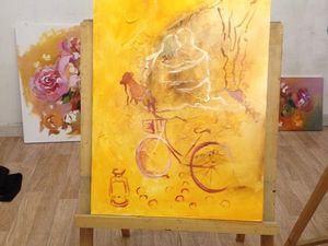 История создания двух новых картин. Ярмарка Мастеров - ручная работа, handmade.