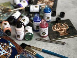 Краски для создания эффекта химической патины. Ярмарка Мастеров - ручная работа, handmade.