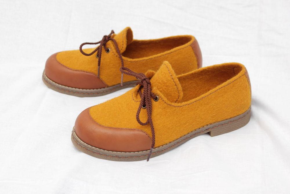 обувь на заказ, тонкий войлок