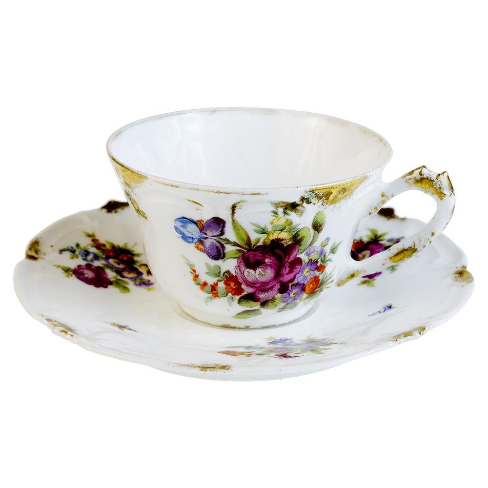 чайная пара, английский фарфор