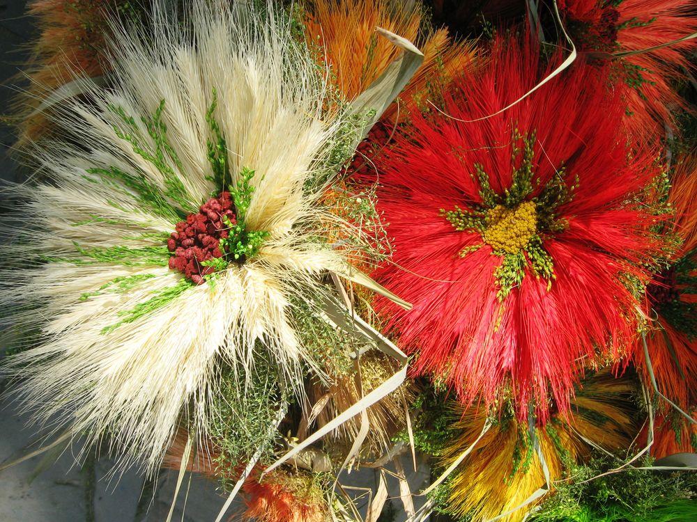 декор, пшеница в доме