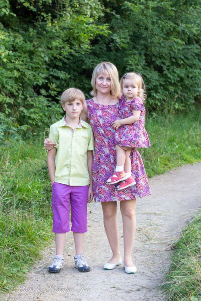семья, рубашка для мальчика, family look, для мамы