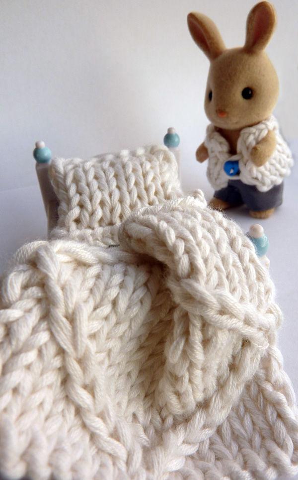 крупное вязание, сравнение