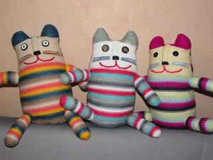 Новинка магазина.Котик . Мягкая игрушка. | Ярмарка Мастеров - ручная работа, handmade