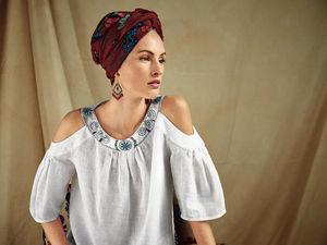 Как украсить блузку вышивкой?   Ярмарка Мастеров - ручная работа, handmade