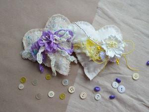 Как сделать текстильное аромасаше. Ярмарка Мастеров - ручная работа, handmade.