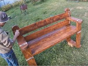 Видео мастер-класс: делаем лавку своими руками. Ярмарка Мастеров - ручная работа, handmade.