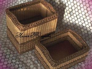ЭКО-стиль. Короба для хранения.. Ярмарка Мастеров - ручная работа, handmade.