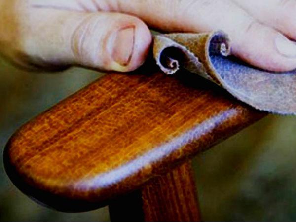 Уходза за мебелью из натурального дерев