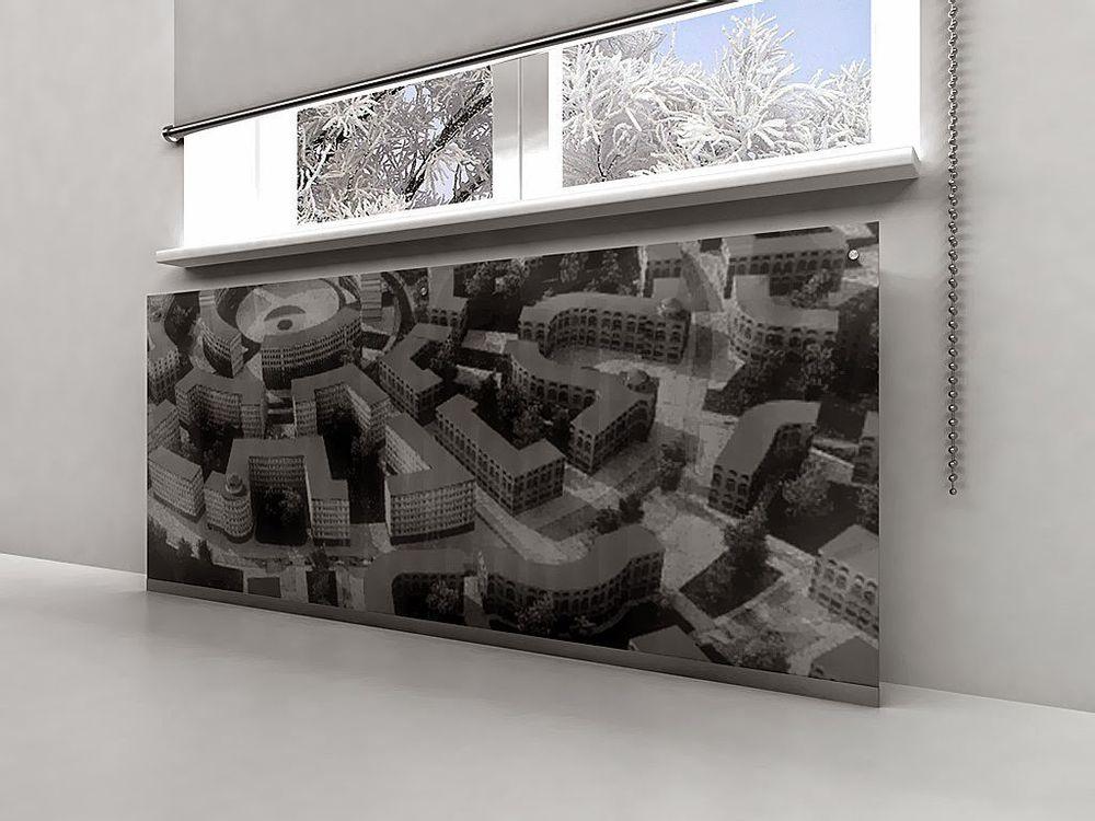 45 идей для декорирования батарей отопления, или Как «замаскировать» радиаторы отопления дома, чтобы не мозолили глаза, фото № 22