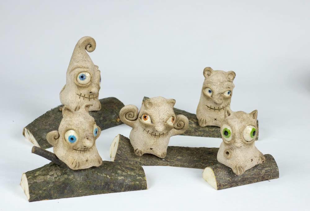 керамические фигурки