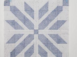 Шьем лоскутный блок «Скандинавия». Ярмарка Мастеров - ручная работа, handmade.