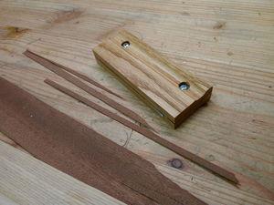Изготавливаем удобный резак для шпона, картона и прочего листового материала. Ярмарка Мастеров - ручная работа, handmade.