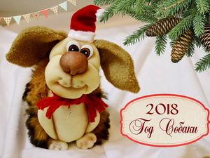 Шьем собачку из капрона — символ 2018 года. Видеоурок. Ярмарка Мастеров - ручная работа, handmade.