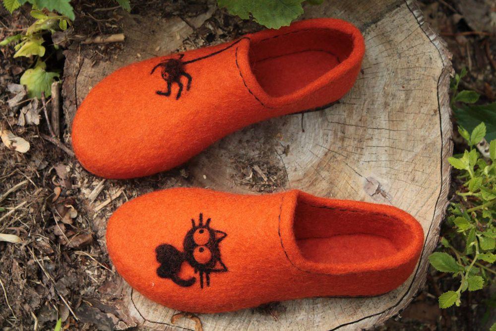 обувь, мастер-класс по валянию