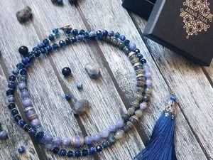 Синяя Мала для Веры!. Ярмарка Мастеров - ручная работа, handmade.