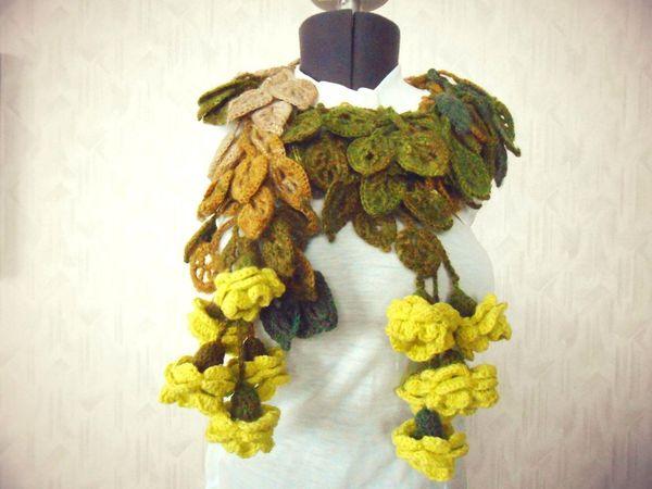 Распродада оригинальных шарфиков!!!! | Ярмарка Мастеров - ручная работа, handmade