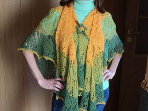 Выбор пряжи для вязания шалей и палантинов спицами. | Ярмарка Мастеров - ручная работа, handmade