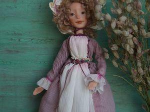 Дополнительные фотографии авторской куклы Росс. Ярмарка Мастеров - ручная работа, handmade.