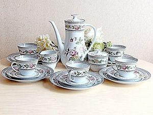 Чайный сервиз винтаж Бавария Германия. Ярмарка Мастеров - ручная работа, handmade.