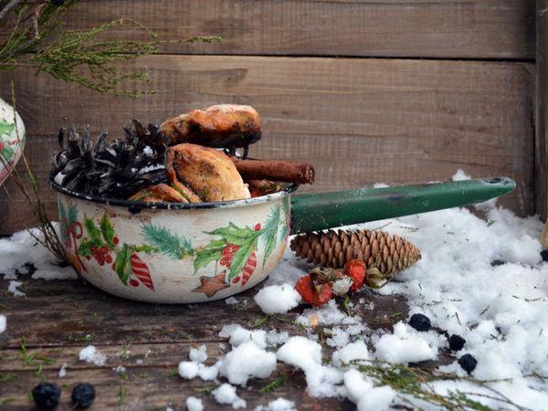 Новогодний декор  с душевными вещами из прошлого | Ярмарка Мастеров - ручная работа, handmade