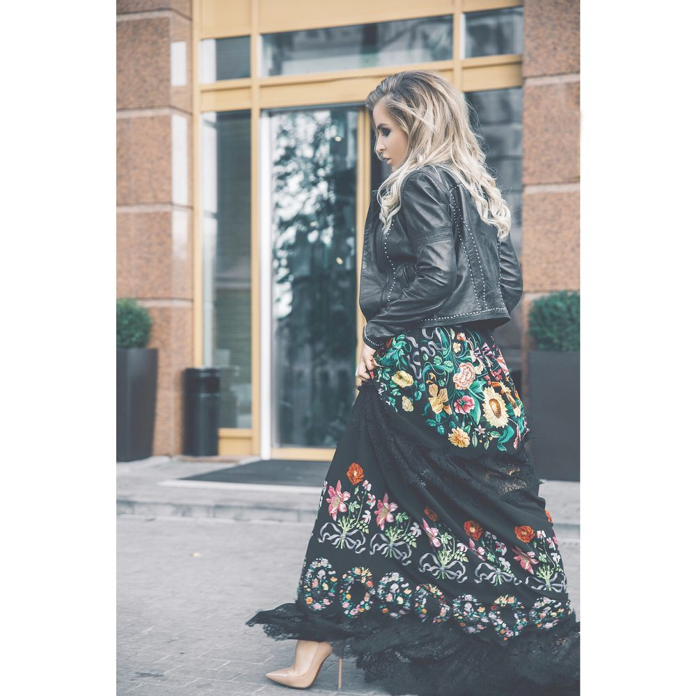 платье с принтом, дизайнерская одежда
