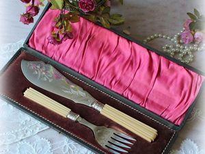 Дополнительные фото ножа и вилки для рыбы. Ярмарка Мастеров - ручная работа, handmade.