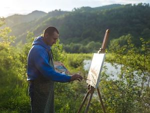 """Международный живописный пленэр """"Вижница 2018"""". Ярмарка Мастеров - ручная работа, handmade."""