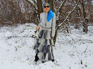 Новинка! Зимнее вязаное платье. Ярмарка Мастеров - ручная работа, handmade.