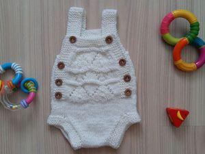 Вяжем боди «Сердечный» для новорожденного: видео мастер-класс. Ярмарка Мастеров - ручная работа, handmade.
