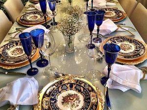 Декорация праздничного стола. Ярмарка Мастеров - ручная работа, handmade.