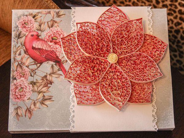 Видеоурок: делаем декоративный цветок в технике квиллинг. Часть 2 | Ярмарка Мастеров - ручная работа, handmade