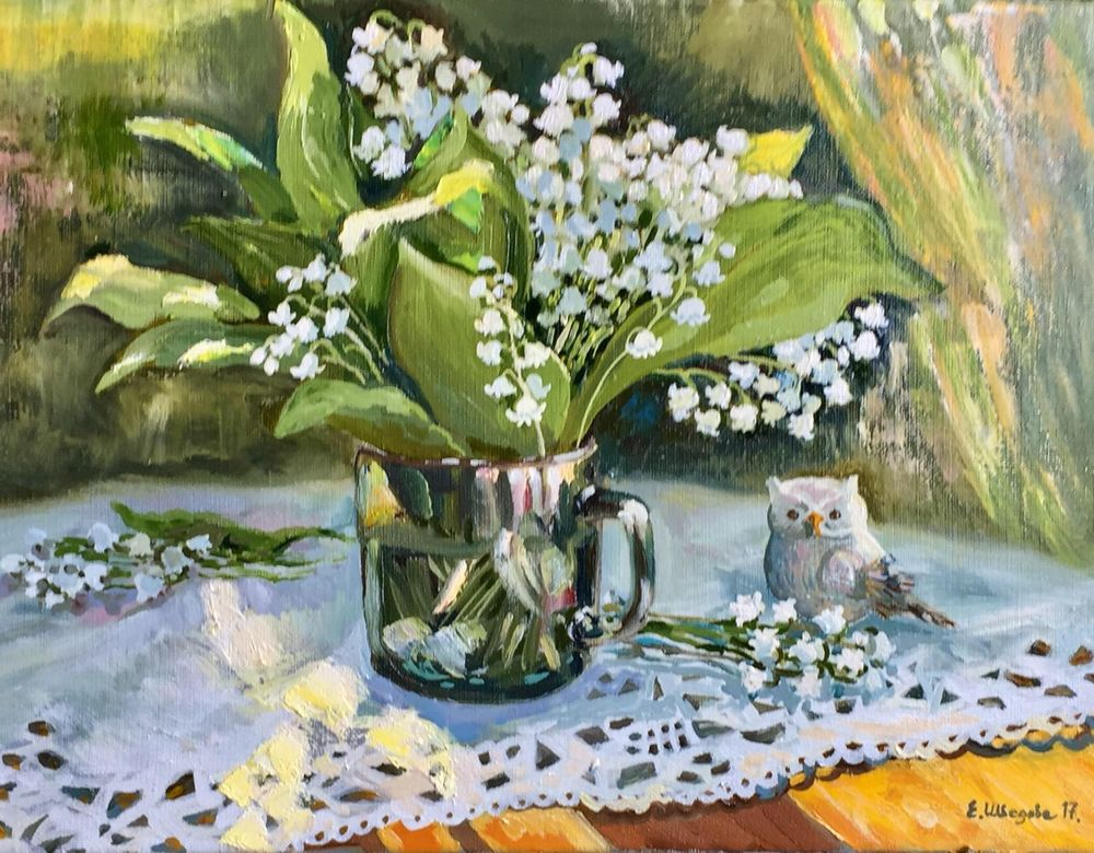 картина цветы, ярмарка мастеров