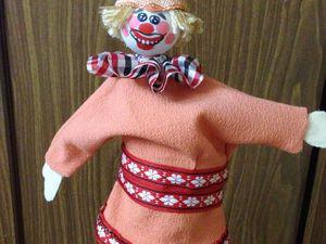 Делаем куклу из кулёчка. Ярмарка Мастеров - ручная работа, handmade.