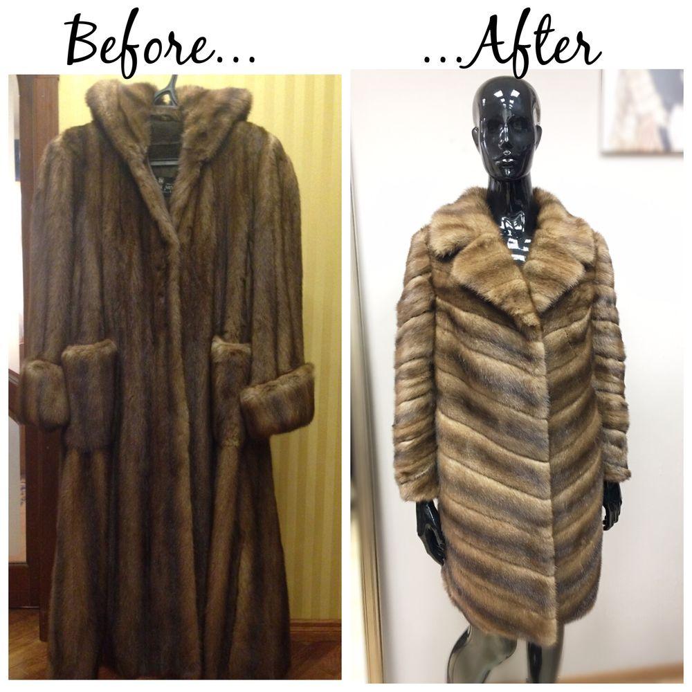 Перешив шуб ДО и после/ Fur remodeling: лучшие изображения