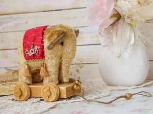 Новый слоненок! Добро пожаловать!. Ярмарка Мастеров - ручная работа, handmade.