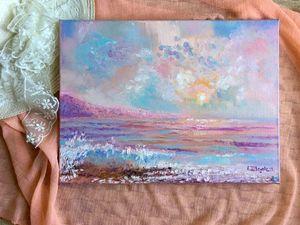 Морские пейзажи — новинки магазина. Ярмарка Мастеров - ручная работа, handmade.