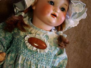 Антикварная кукла Арманд Марсель Красавица из Дербишира   Ярмарка Мастеров - ручная работа, handmade