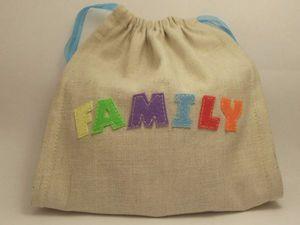 Шьем простой мешочек с завязками для подарков. Ярмарка Мастеров - ручная работа, handmade.